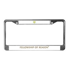 Fellowship of Reason License Plate Frame