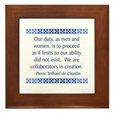 De Chardin Framed Tile