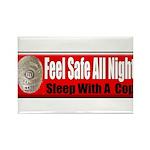 Feel Safe Rectangle Magnet (100 pack)