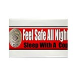 Feel Safe Rectangle Magnet