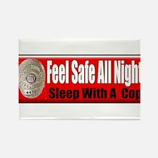 Feel Safe Rectangle Magnet