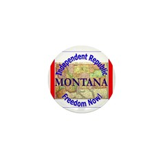 Montana-3 Mini Button
