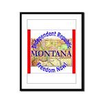 Montana-3 Framed Panel Print