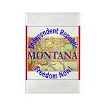 Montana-3 Rectangle Magnet (100 pack)
