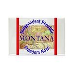 Montana-3 Rectangle Magnet (10 pack)