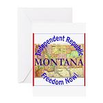 Montana-3 Greeting Card