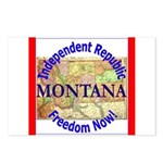 Montana-3 Postcards (Package of 8)