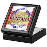 Montana-3 Keepsake Box