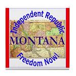 Montana-3 Tile Coaster