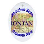 Montana-3 Oval Ornament