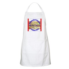 Montana-3 BBQ Apron