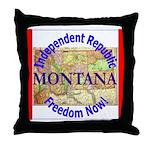 Montana-3 Throw Pillow