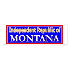 Montana-2 Bumper Bumper Sticker