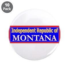 "Montana-2 3.5"" Button (10 pack)"