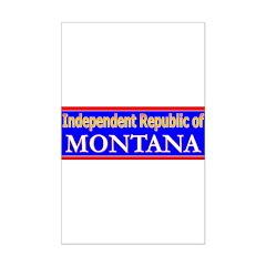 Montana-2 Posters