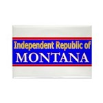 Montana-2 Rectangle Magnet (100 pack)