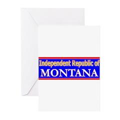 Montana-2 Greeting Cards (Pk of 10)