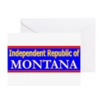 Montana-2 Greeting Cards (Pk of 10)