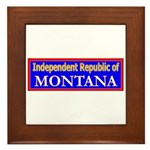Montana-2 Framed Tile