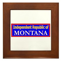 Montana-2 Framed Tile