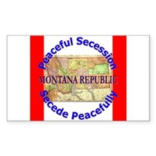 Montana-1 Rectangle Decal