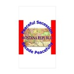 Montana-1 Rectangle Sticker 10 pk)