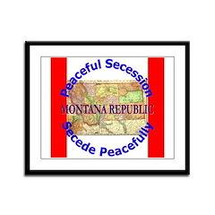 Montana-1 Framed Panel Print