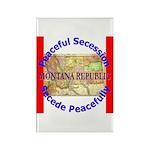 Montana-1 Rectangle Magnet (100 pack)