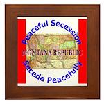 Montana-1 Framed Tile