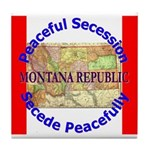 Montana-1 Tile Coaster