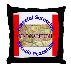 Montana-1 Throw Pillow