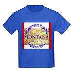 Montana-3 Kids Dark T-Shirt