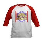 Montana-3 Kids Baseball Jersey