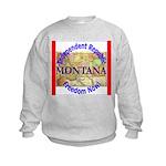 Montana-3 Kids Sweatshirt