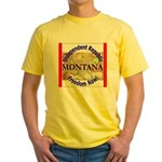 Montana-3 Yellow T-Shirt