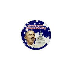 Obama inauguration Mini Button