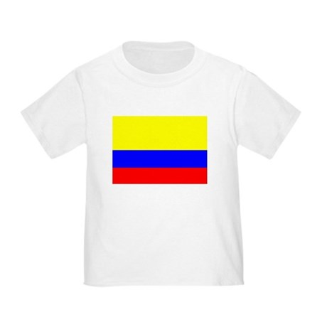 Colombia Flag Toddler T-Shirt