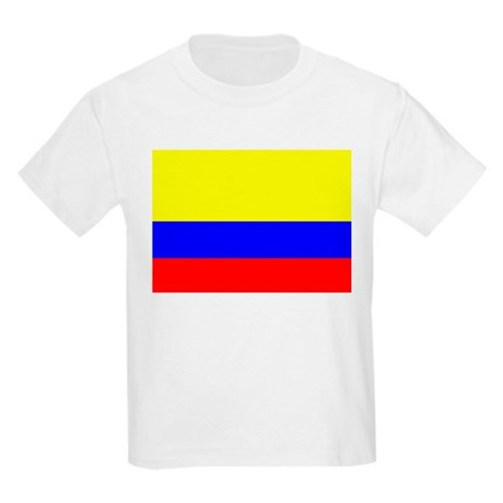 Colombia Flag Kids T-Shirt