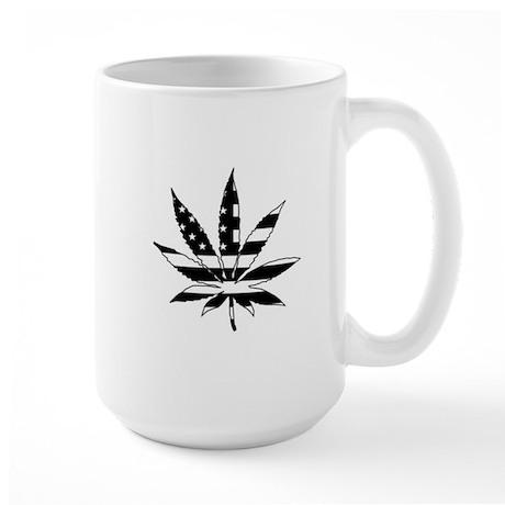 American Leaf Large Mug
