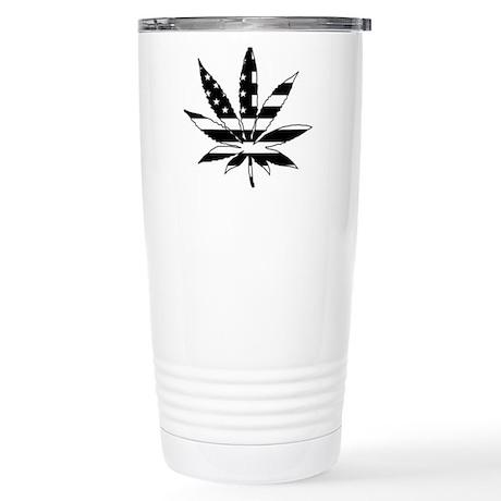 American Leaf Stainless Steel Travel Mug