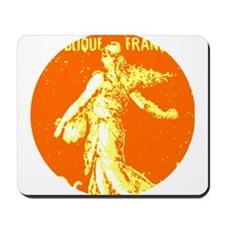 Twister Sower: cool orange Mousepad
