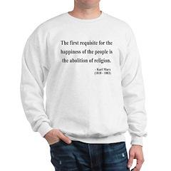 Karl Marx 3 Sweatshirt