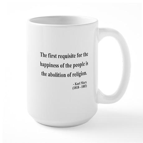 Karl Marx 3 Large Mug