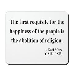 Karl Marx 3 Mousepad