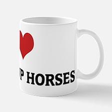 I Love Knabstrup Horses Mug