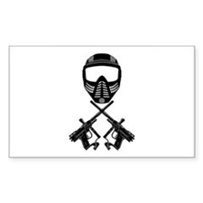 Paintball Rectangle Decal