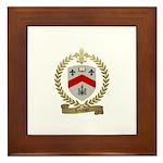LEVANIER Family Crest Framed Tile