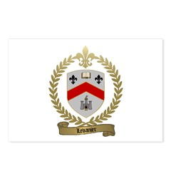 LEVANIER Family Crest Postcards (Package of 8)