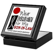 I Wear Grey For My Son-In-Law 9 Keepsake Box