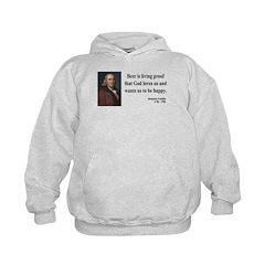 Benjamin Franklin 8 Hoodie